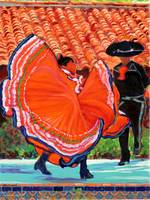 Spanish Dancers by RD Riccoboni