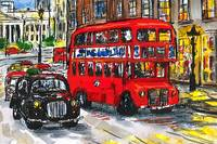 London Bus and Taxi