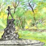 """Peterpan statue  hyde park London"" by sandrafrancis"