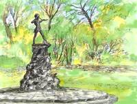 Peterpan statue  hyde park London
