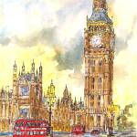 """bigbenwestminsterbridge"" by sandrafrancis"