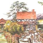"""cottageneartwyfordberkshire"" by sandrafrancis"