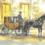 """""""HorseDrivenCab"""" by sandrafrancis"""