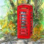 """telephonebox"" by sandrafrancis"