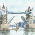 """TowerBridgeLondon"" by sandrafrancis"
