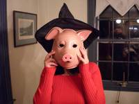 Untitled (Pig Witch)