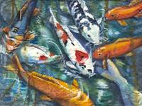Koi on Rice Paper_2