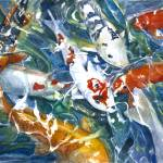 """Koi Sparkle_2"" by allinghamcarlson"