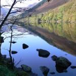 """Reflections on Llyn Crafnant"" by conwytrees"