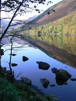 Reflections on Llyn Crafnant