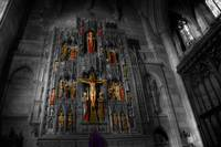 National Cathedral Altar - Colorized