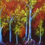 """""""Autumn Scene (Acrylic)"""" by ianmargolycz"""