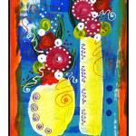 """""""Bistro Floral #5"""" by wasankari"""