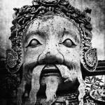 """Wat Po Statue"" by SkipNall"