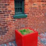 """Red Box Under Green Window"" by zaniac"