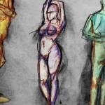 """three nudes"" by bsabraha"