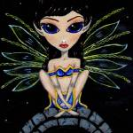 """Blue Gold Fairy"" by Bronwen"