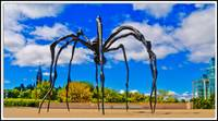 Sculpture of Maman