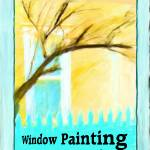 """ARTISTIC WINDOW PAINTING"" by KimRoeArt"