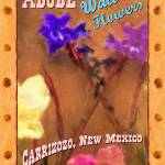 """ADOBE WALL FLOWERS"" by KimRoeArt"