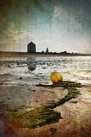 Buoy on a Low Tide with Textures