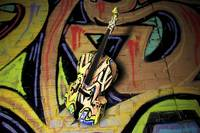 Contrabass Jazzy Graffiti - 3D Model