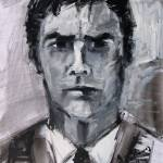 """Aaron Hotchner Portrait Criminal Minds by Ginette"" by GinetteCallaway"