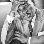 """Dr. Martin Luther King, Jr."" by elizscism"