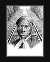 Harriet Tubman with Digital Mat