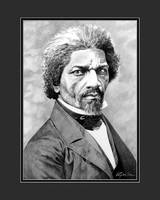 Frederick Douglass with Digital Mat
