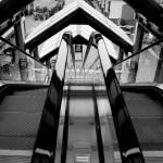 """Dual Escalators"" by chrisnunndesign"