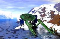Humor - Shipwrecked USS Enterprise