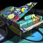 """Free Form Jazz and Graffiti Expression - 3D Model"" by WallArtDeco"