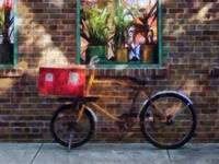 Delivery Bicycle Greenwich Village