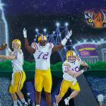 """LSU The Spirit of Baton Rouge"" by HershelKysar"