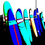 """""""BALI SURFS !"""" by Funkpix"""