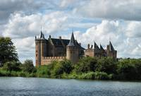 Medieval castle in Holland