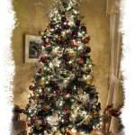 """Christmas Tree, Shiny Baubles, Holiday Xmas Lights"" by Chantal"