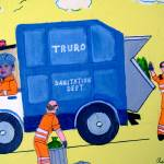 """Garbage Truck Is Here"" by AudCooperArtist"