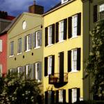 """Rainbow Row No. 2, Charleston, SC"" by PadgettGallery"