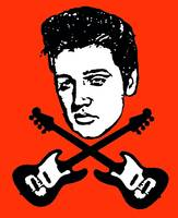 Elvis and Cross Bones