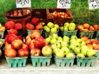 Apples at Farmers Market