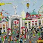 """Canadian National Exhibition 1935"" by AudCooperArtist"
