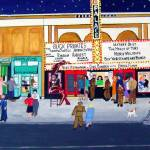 """""""Friday Night at the Movies"""" by AudCooperArtist"""