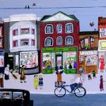 """""""Shopping 1940s"""" by AudCooperArtist"""