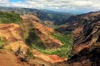 Waimea Canyon From The West