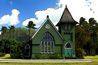 The Old Church In Hanalei