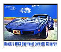 Brock's 1973 Chevrolet Corvette Stingray