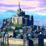 """Mount Saint Michel"" by Chicagoartist1"