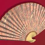 """Asian Fan Deco 02 - 3D Model"" by WallArtDeco"